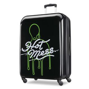 "American Tourister Nickelodeon Slime 28"" Spinner in the color Slime."