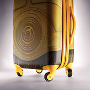 "American Tourister Star Wars 21"" Spinner in the color C3PO."