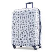 """American Tourister Disney Snow White 28"""" Spinner in the color Blue/White."""