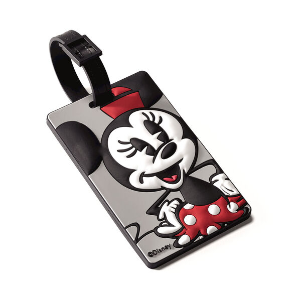 American Tourister Disney ID Tag in the color Minnie Mouse.