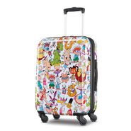 """American Tourister Nickelodeon 90's Mash Up 21"""" Spinner in the color Nick 90's."""