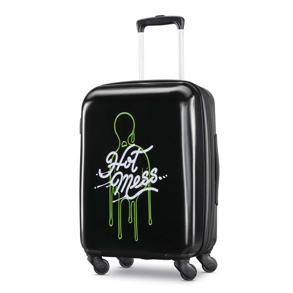 """American Tourister Nickelodeon Slime 21"""" Spinner in the color Slime."""