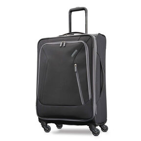 "American Tourister Sonic 25"" Spinner in the color Black."
