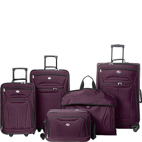 Wakefield 5 Piece Set in the color Purple.