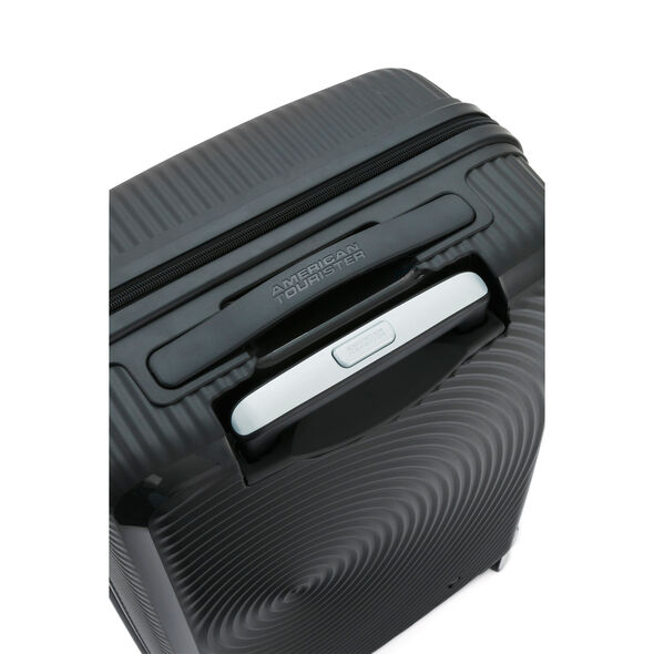 "American Tourister Curio 29"" Spinner in the color Black."