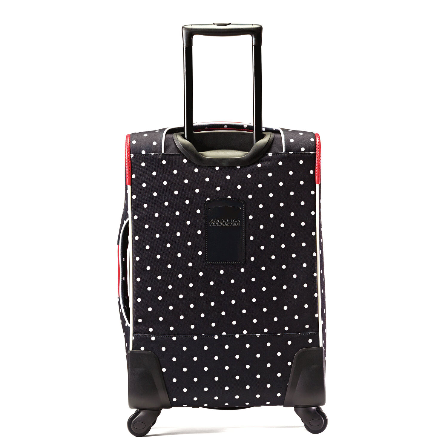 cd779f48ae6 American Tourister Disney Minnie Mouse 21 quot  Spinner in the color Minnie  Mouse Red Bow.