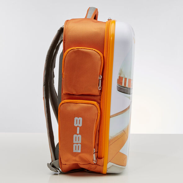 American Tourister Star Wars Hardside Backpack in the color BB8.