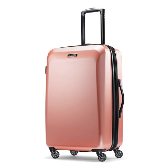 American Tourister Moonlight 2 Piece Set in the color Rose Gold.