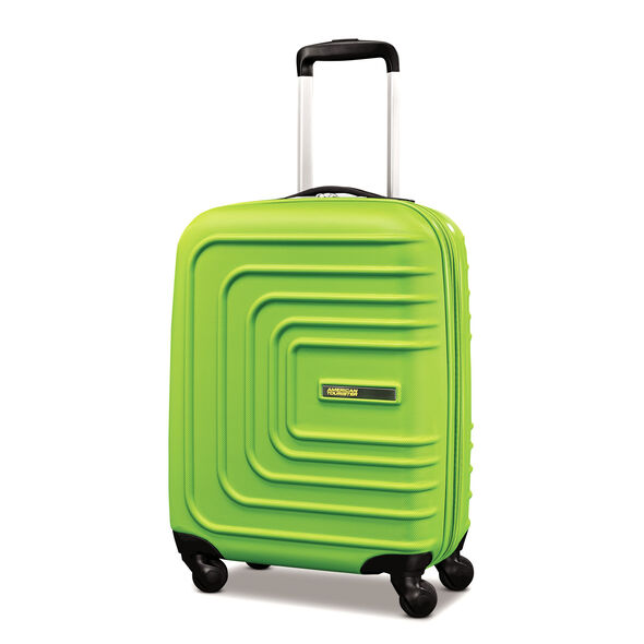 "American Tourister Sunset Cruise 20"" Spinner in the color Apple Green."