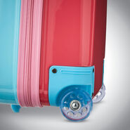 """American Tourister Disney Kids 16"""" Hardside Upright in the color Minnie."""