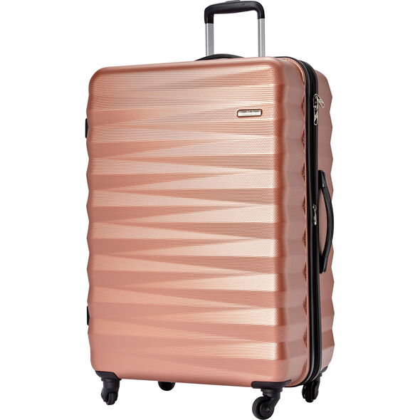 "American Tourister Triumph NX 28"" Spinner in the color Rose Gold."