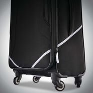 "American Tourister Reflexx 28"" Spinner in the color Black/White."