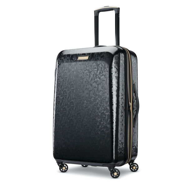 "American Tourister Belle Voyage Hardside 24"" Spinner in the color Black."
