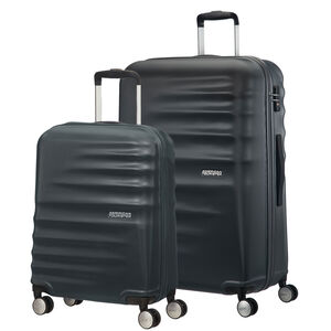 Spinner XL American Tourister Lite Ray Bagage/ - Valise Forest Green 81 cm - 105 L