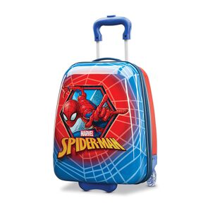 "American Tourister Marvel Kids Spiderman 18"" Hardside Upright in the color Spiderman."