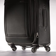 "American Tourister Triumph DLX 25"" Spinner in the color Black."