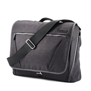 Messenger Bag in the color Charcoal.