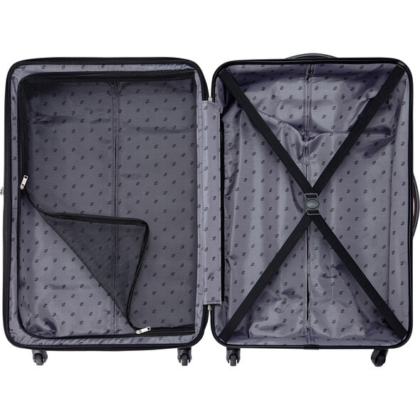 "American Tourister Triumph NX 20"" Spinner in the color Silver."