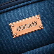 "American Tourister Belle Voyage 28"" Spinner in the color Blue Denim."