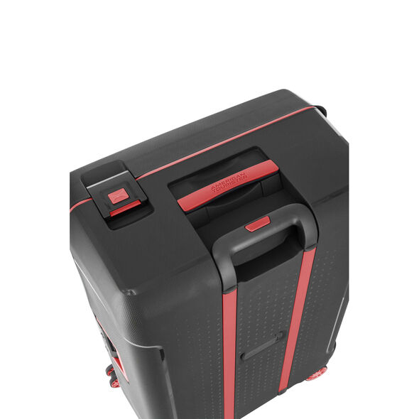 "American Tourister Tribus 29"" Spinner in the color Black."