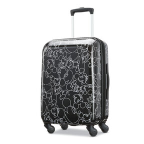 "7a3d9f406c American Tourister Disney Mickey Scribble 20"" Spinner in the color  Mickey Mouse Multi ..."