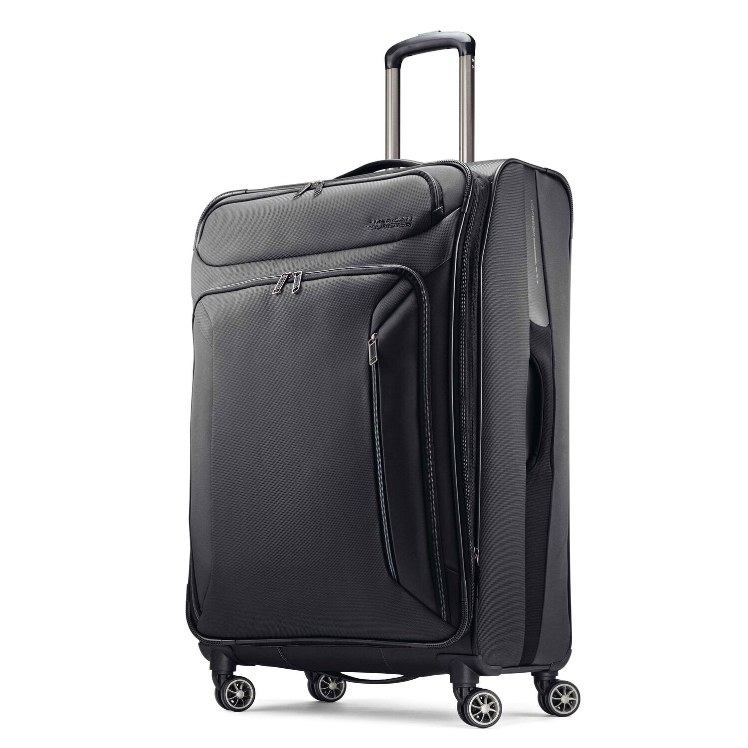 American Tourister Zoom 28 Spinner In The Color Black