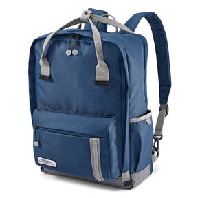American Tourister Cooper Backpack in the color Navy/Grey.