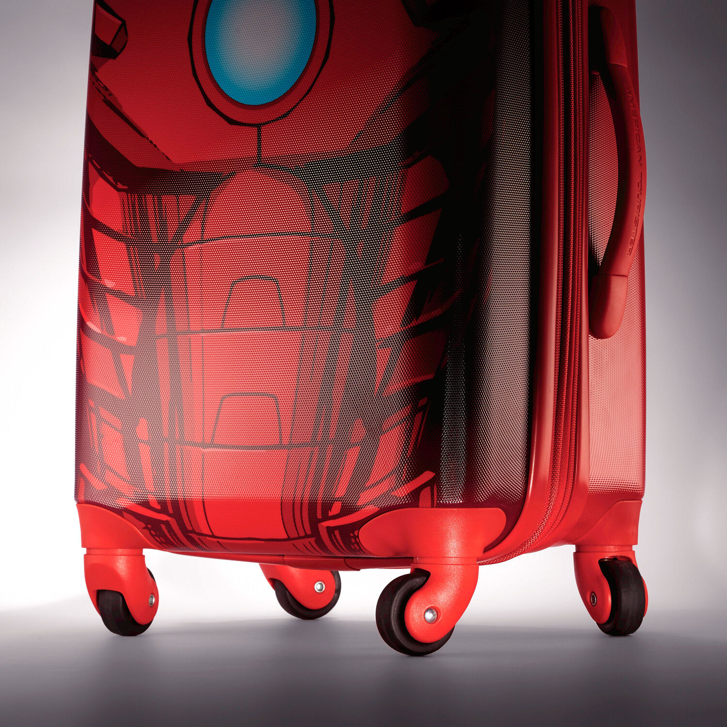 """c7b314bf11cc6d American Tourister Marvel 28"""" Spinner in the color Iron Man."""