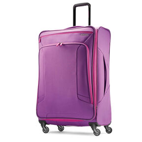 "American Tourister 4 Kix 28"" Spinner in the color Purple/Pink."