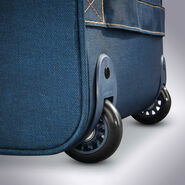 American Tourister Belle Voyage Rolling Tote in the color Blue Denim.