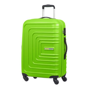 "American Tourister Sunset Cruise 24"" Spinner in the color Apple Green."