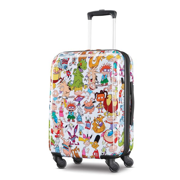 "American Tourister Nickelodeon 90's Mash Up 21"" Spinner in the color Nick 90's."
