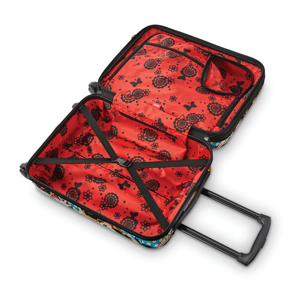 American Tourister Disney Roll Aboard 2 Piece Set (Underseater/Carry-On) in the color Minnie.