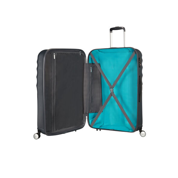 American Tourister Wavebreaker 2 PC Set in the color Nightshade.