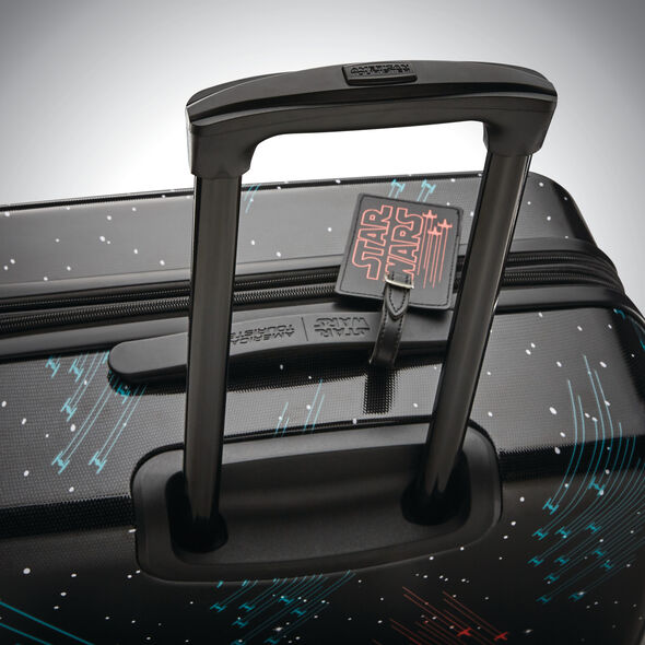 """American Tourister Star Wars Battle 20"""" Spinner in the color Star Wars Galaxy."""