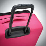 "American Tourister 4 Kix 21"" Spinner in the color Pink."