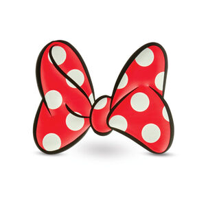 Disney Luggage Stickers in the color Minnie Bow.