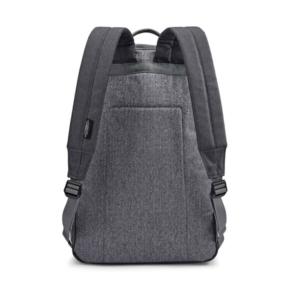 American Tourister Keystone Backpack in the color Grey/Orange.