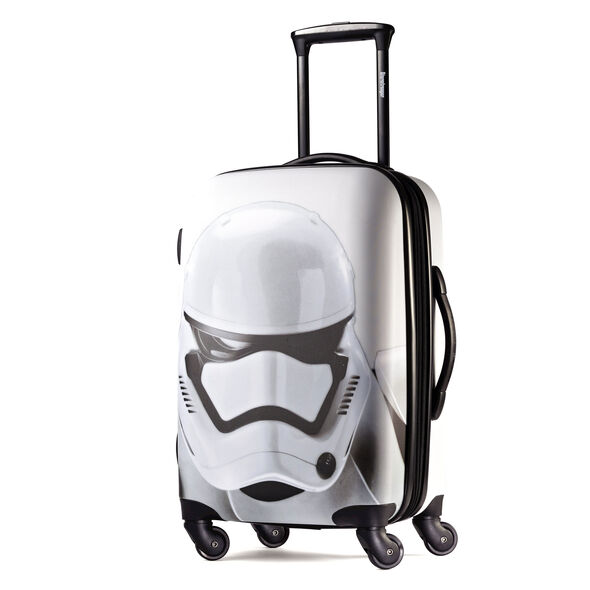 """American Tourister Star Wars 20"""" Spinner in the color Storm Trooper."""