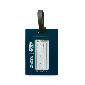 Star Wars ID Tag in the color Star Wars R2D2.