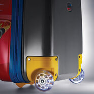 "American Tourister Disney 18"" Hardside Upright in the color Cars."