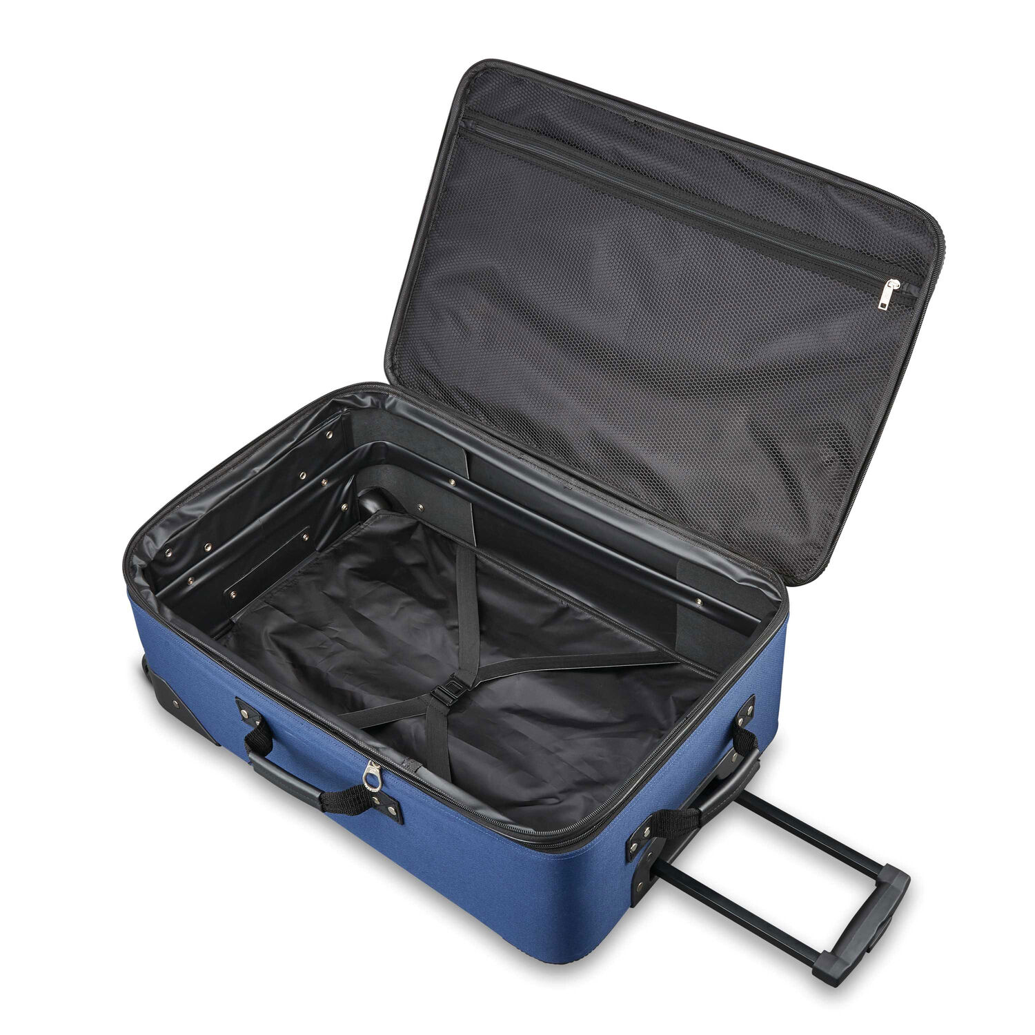 98f1a933e1 American Tourister Fieldbrook XLT 4 Piece Set in the color Navy.