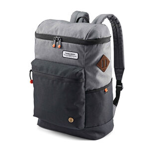 American Tourister Oscar Backpack in the color Black/Grey/Orange.