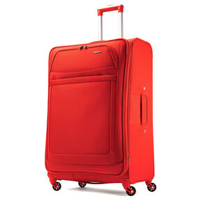 "American Tourister iLite Max 29"" Spinner in the color Tangerine."