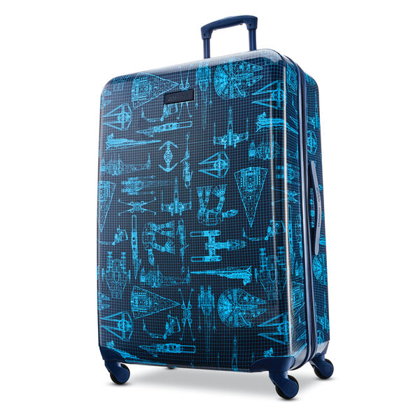 "American Tourister Star Wars Tech 28"" Spinner in the color Star Wars Intergalactic."