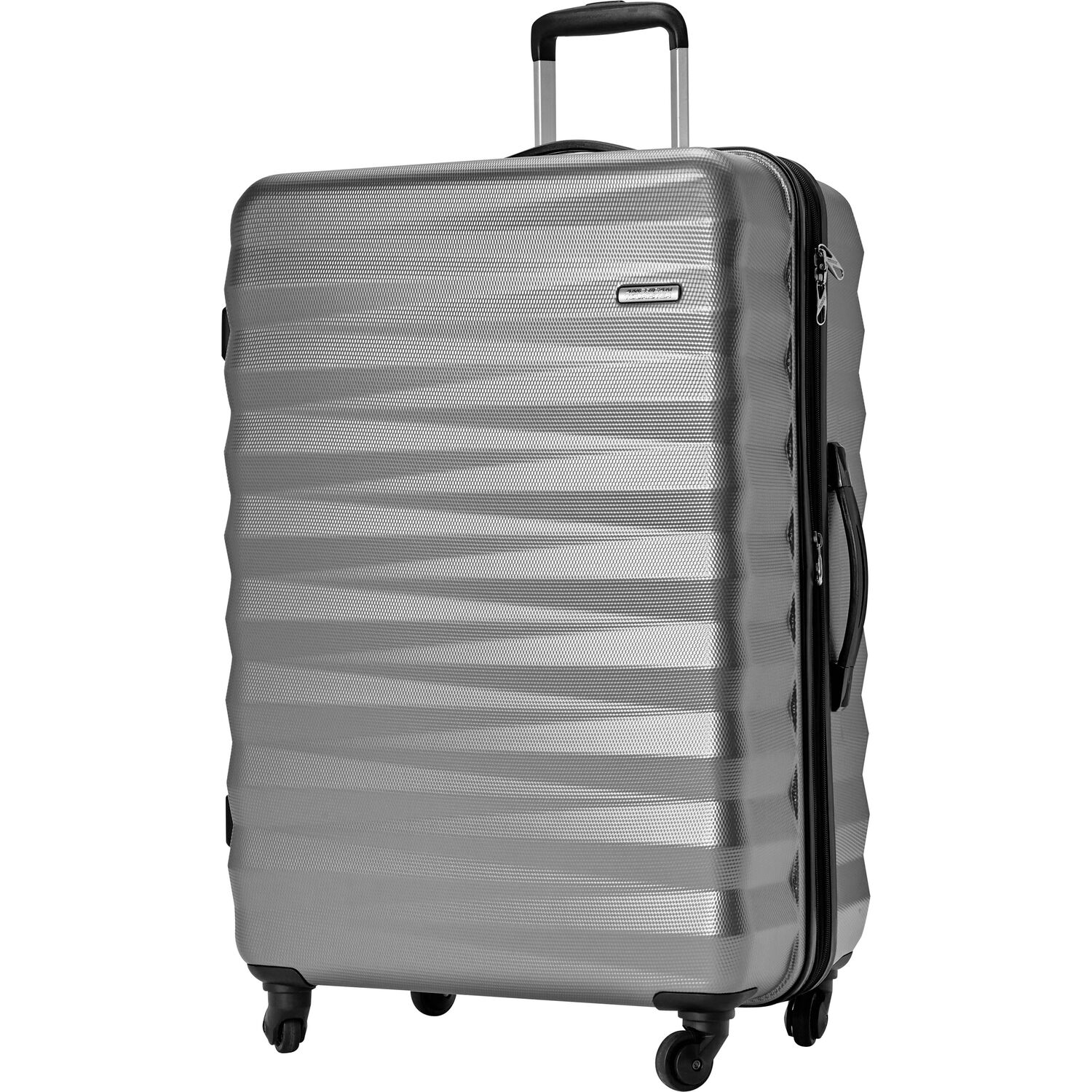 """American Tourister Triumph NX 28"""" Spinner in the color Silver."""