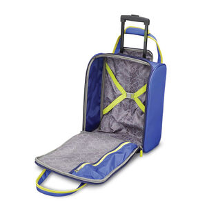 Sonic Rolling Tote in the color Blue/Lime.