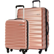 American Tourister Triumph NX 2 Piece Set in the color Rose Gold.