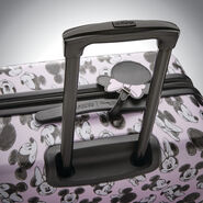 "American Tourister Disney Mickey & Minnie 20"" Spinner in the color Minnie Loves Mickey."