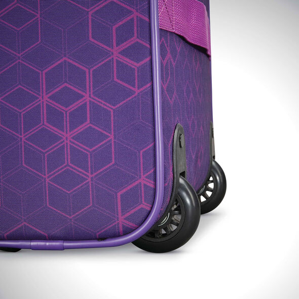 American Tourister Sonic Rolling Tote in the color Purple Print.